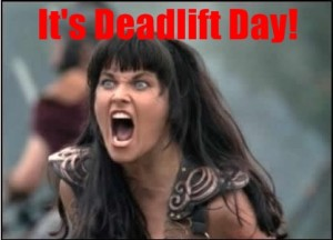 Xena-Deadlift